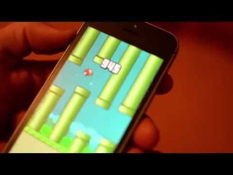 Flappy Bird phá đảo gặp Mario