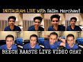 Armaan Malik & Salim Merchant - Beech Raaste Instagram Live - Video Chat || SLV2020