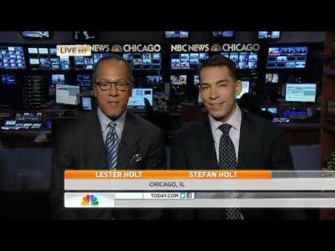 TODAY  Lester Holt and son team up to anchor in Chicago