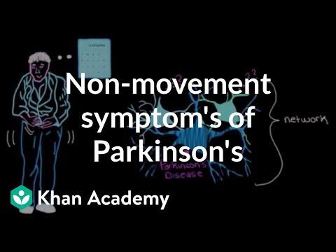 Video Non-movement symptoms of Parkinson's disease | Nervous system diseases | NCLEX-RN | Khan Academy