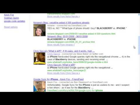 What is Google Social Search?