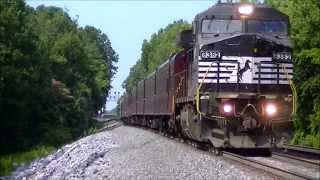 preview picture of video '16 Train Wonder-video, Railfanning Salisbury, NC 6/21/14'