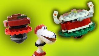 ГОША СОБИРАЕТ ЛЕГО БЕЙБЛЭЙДЫ! Битвы Лего Бейблейдов! Дракоша Гоша - видео для детей.