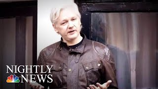Justice Dept Files Undisclosed Criminal Charges Against Wikileaks Founder Assange | NBC Nightly News