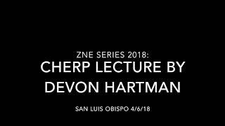 Zero Net Energy 2018: CHERP Lecture 4/4/18