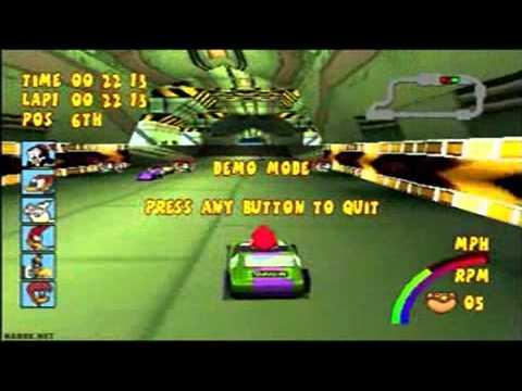 Woody Woodpecker Racing Playstation