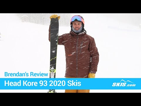 Video: Head Kore 93 Skis 2020 3 40