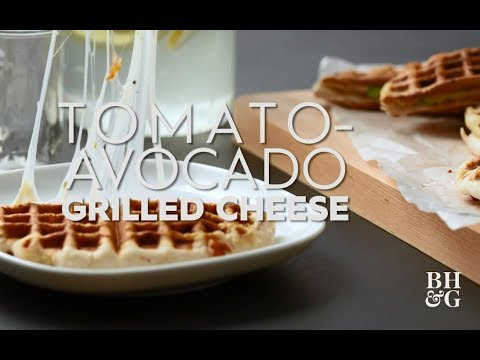 Tomato-Avocado Wafflewich | Eat This Now | Better Homes & Gardens