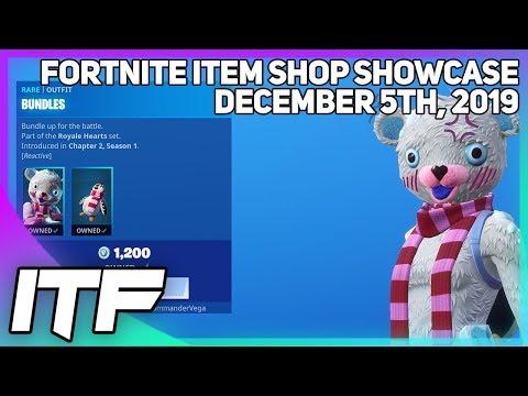 Fortnite Item Shop *NEW* BUNDLES SKIN! [December 5th, 2019] (Fortnite Battle Royale)