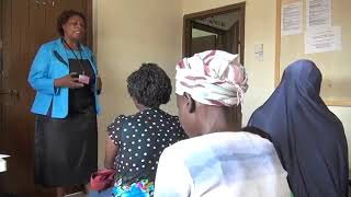 Supporting Community based care for people living with HIV. Video Supported by PEPFAR