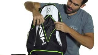 Head Djokovic Backpack video
