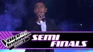 "Hendrik ""Jikalau Kau Cinta"" | Semifinals | The Voice Kids Indonesia Season 3 GTV"