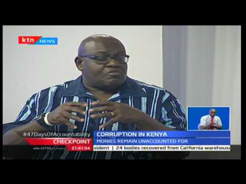 CheckPoint: Analysis of the high level of corruption in the country with John Githongo