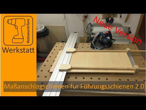 Einfach genial! Maßanschlagschienen für Bosch/Mafell Führungsschiene FSN - Die Neuen-