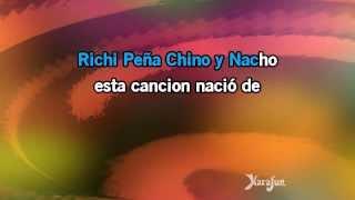 Karaoke Mi Niña Bonita   Chino & Nacho *