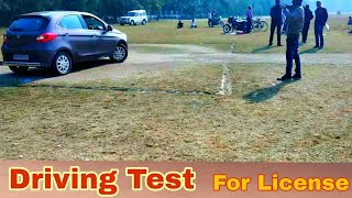 Car licence test   #RTO_Driving_test in India for four wheeler cars   
