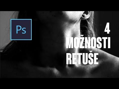 4 možnosti retuše ve Photoshopu pro začátečníky - Diviška