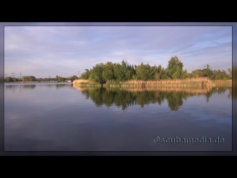 Erlichsee II - das Loch im See, Erlichsee,Rheinhausen-Oberhausen,Baden Württemberg,Deutschland