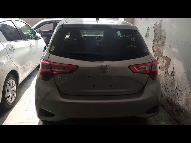 Toyota Vitz F 1.0 2017 for Sale in Multan