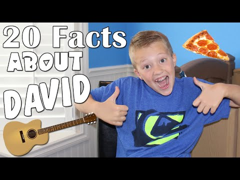 20 Questions With David