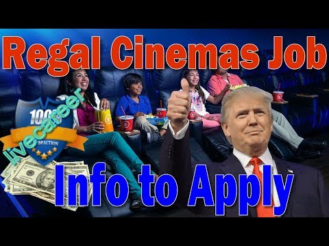 Regal Cinemas Job opportunity - application for job and employment online