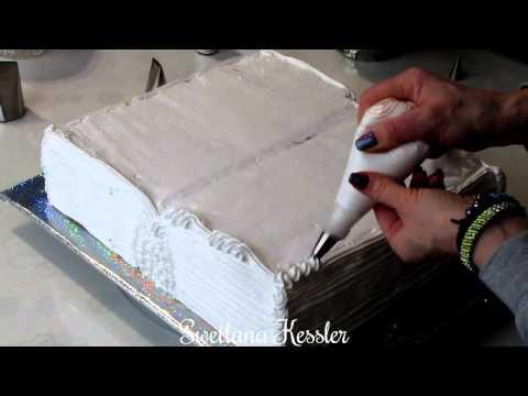 Как сделать торт в виде книги