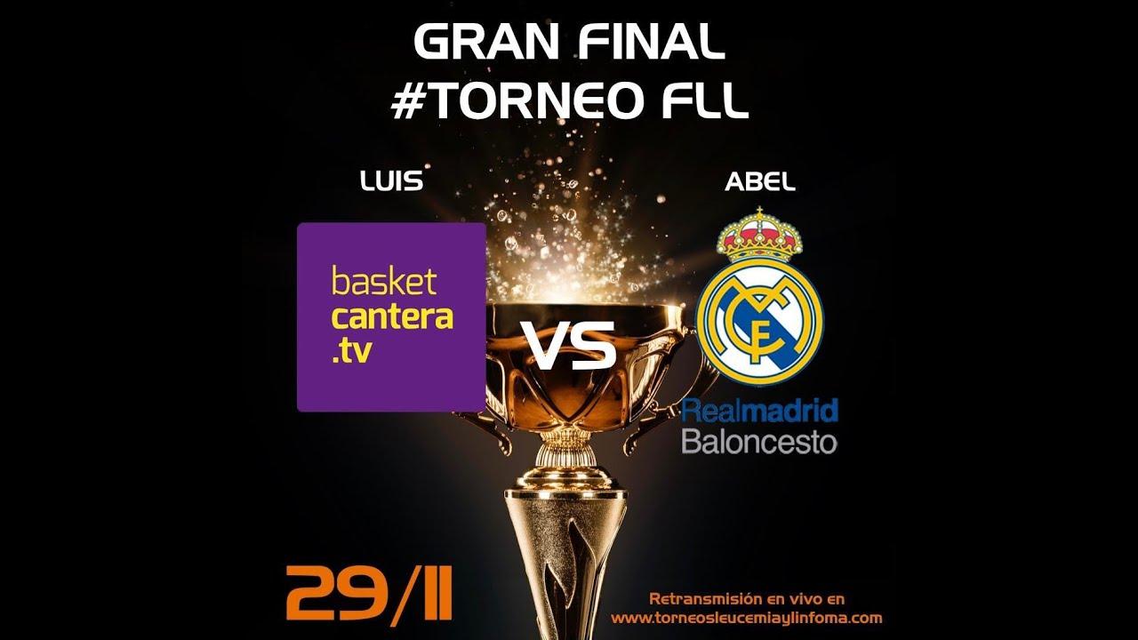 Torneo FLL eSport FINAL Real Madrid vs BasketCantera.TV - Nov. 2020 (modalidad empresas)