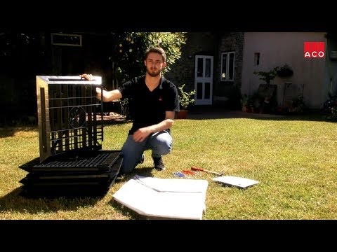 aco selbstbau einbau und produktvideos. Black Bedroom Furniture Sets. Home Design Ideas