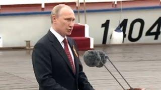 «Живите 200 лет!» Как Владимира Путина встретили в День Победы в Крыму