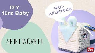 Nastja @DIY Eule  x Prym | Spielwürfel für Babys selber nähen: süßes DIY Motorikspielzeug