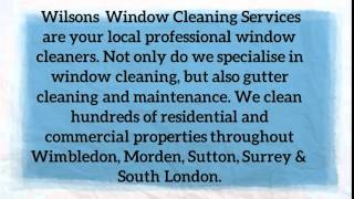 preview picture of video 'gutter cleaning Wimbledon'