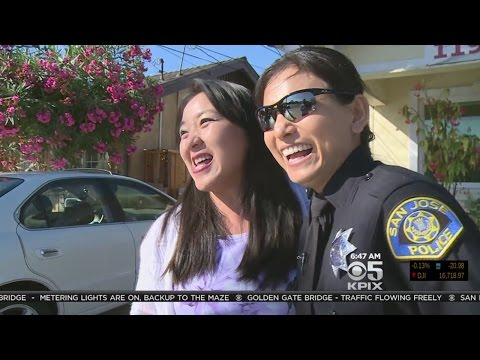 San Jose's First Woman Vietnamese Police Officer Promoted To Sergeant