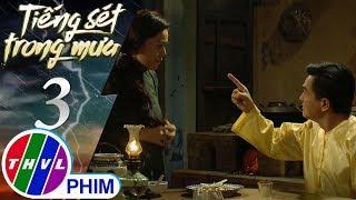 THVL | Tiếng sét trong mưa - Tập 3[3]: Khải Duy không vui khi thấy Thị Bình phải nằm dưới đất