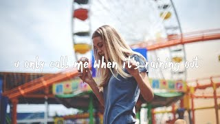Gnash   U Only Call Me When It's Raining Out (lyric Video)