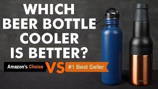 Beer Bottle Cooler Comparison: Amazon's Choice vs #1 Best Seller