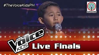 "The Voice Kids Philippines Season 3 Live Finals: ""Salamat"" by Joshua"