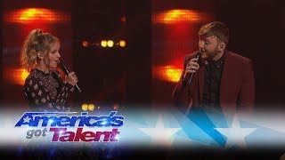 Evie Clair and James Arthur Sing A Stunning Duet - America