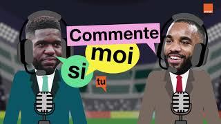"""A. Lacazette & S. Umtiti   """"Commente Moi Si Tu Peux""""   #TeamOrange"""