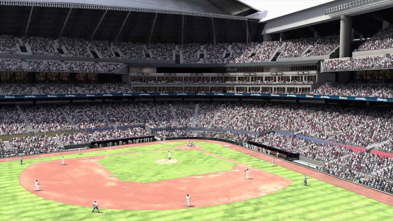 MLB 12 The Show: See the New Miami Marlins Ballpark