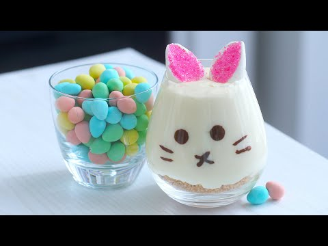 How to Make Easter Rabbit Cheesecake Cups | RECIPE