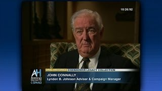 Republican John Connally on the Kennedy assassination