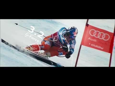 Fyzika závodění – legendární Kitzbühel