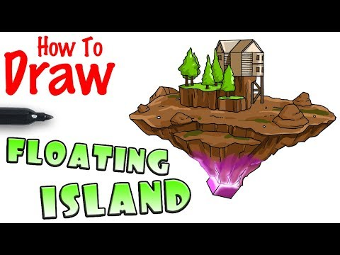 Download How To Draw The Floating Island Fortnite | Dangdut Mania