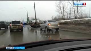 В Казани на Сибирском тракте произошло страшное ДТП. Есть погибший