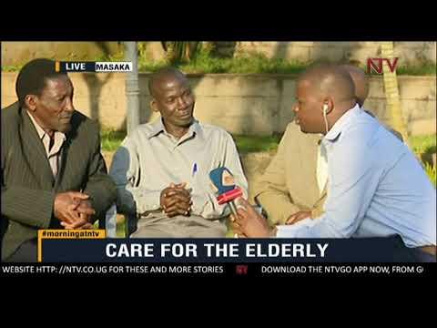 ON THE GROUND: The elderly raise voices on their plight