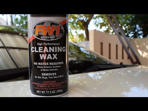 Quick and honest review FW1 High Performance Cleaning Wax (fast wax)