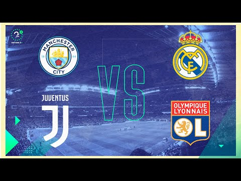 EN VIVO Champions League | Manchester City vs Real Madrid | Juventus vs Lyon
