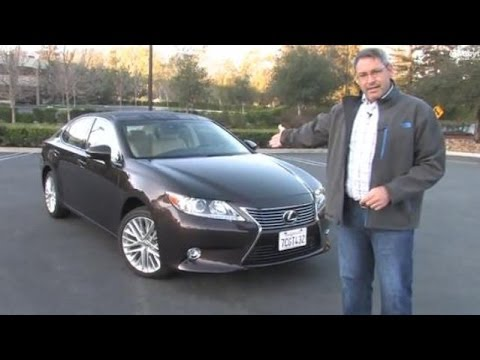 2014 Lexus ES 350 Test Drive & Luxury Car Video Review