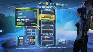 Borderlands 2 inventory tip