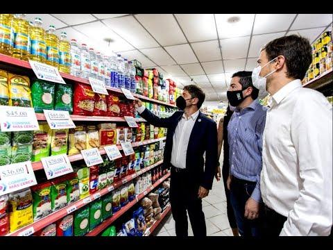 El Gobierno provincial presentó el programa Comprá Más Cerca para incentivar el consumo
